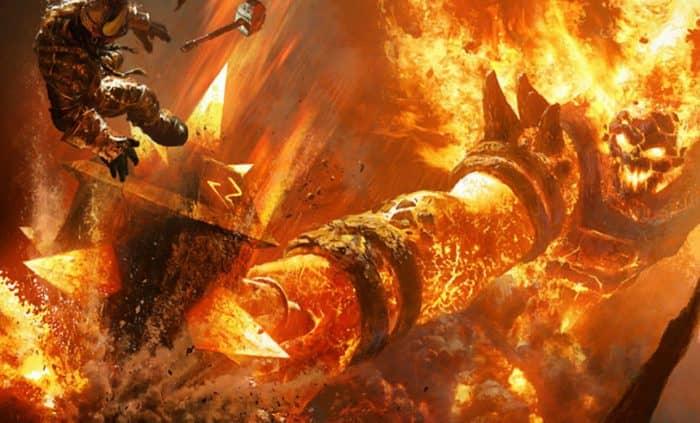 Прохождение подземелья Огненные Недра в World of Warcraft.