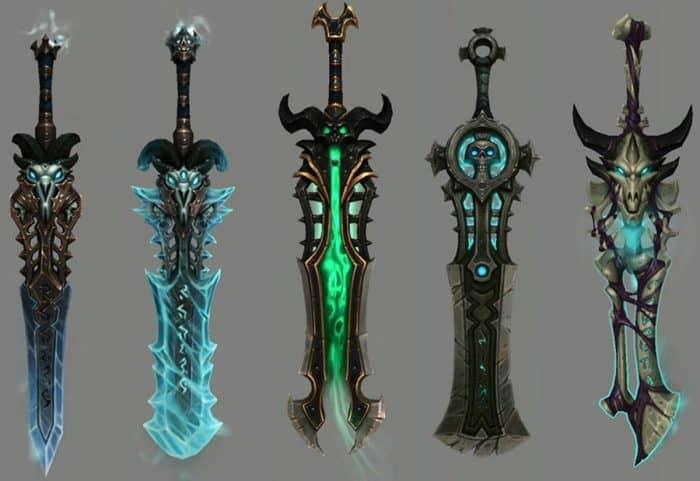 Развитие артефактного оружия