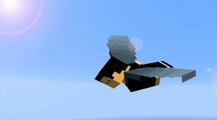 крылья в minecraft