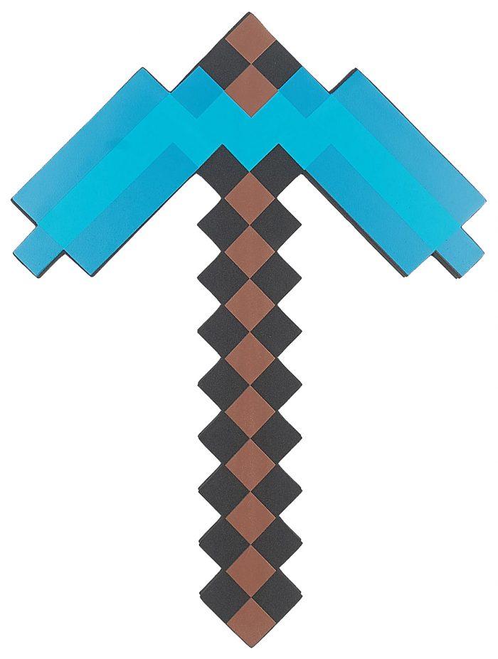 Алмазная кирка в minecraft