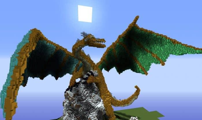 Создание настоящего дракона в minecraft