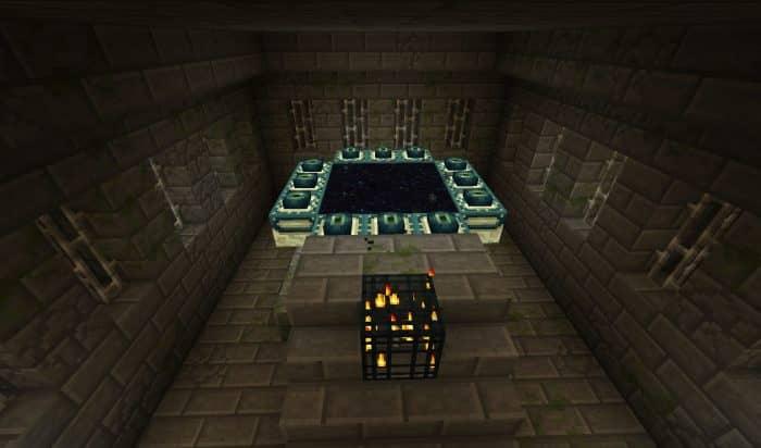 Портал Эндер в minecraft