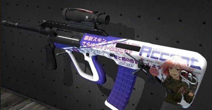 Фиолетовый инвентарь в КС ГО 2