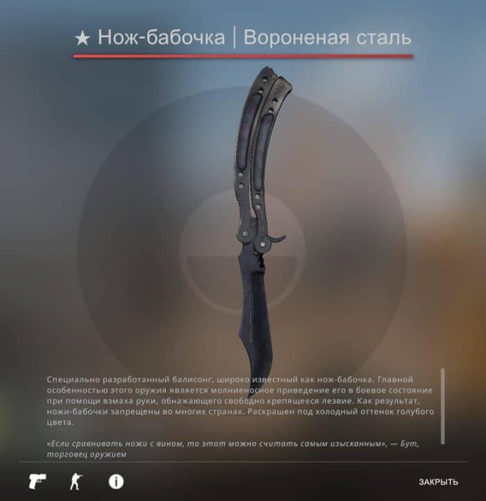 Лучшие ножи с небольшой ценой в КС ГО 1