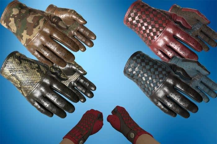 Самые красивые наборы перчаток и ножей в КС ГО 2