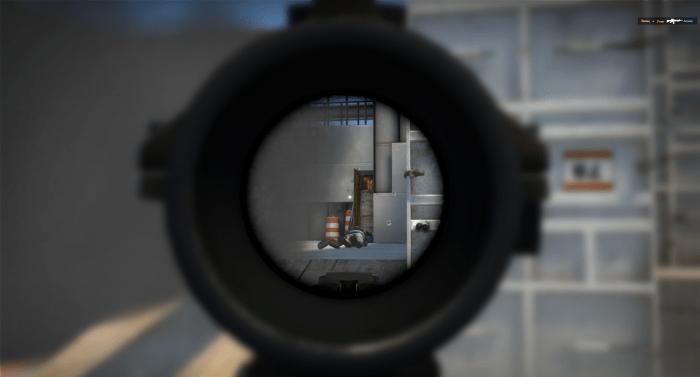 Запретная зона в CS:GO
